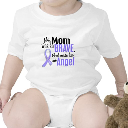 Angel 1 Mom Stomach Cancer Baby Creeper