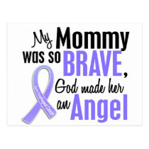 Angel 1 Mommy Esophageal Cancer Postcard