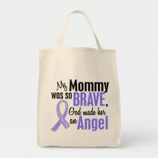 Angel 1 Mommy Esophageal Cancer Tote Bag
