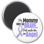 Angel 1 Mommy Stomach Cancer Fridge Magnet