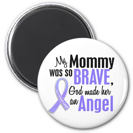 Angel 1 Mommy Stomach Cancer Magnet