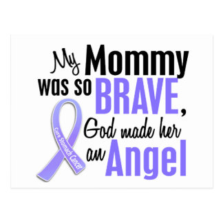 Angel 1 Mommy Stomach Cancer Postcard