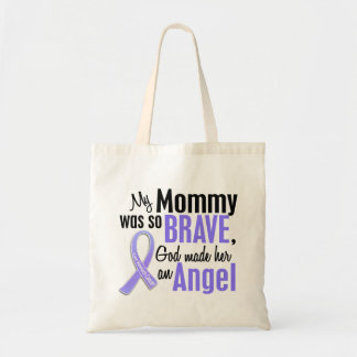 Angel 1 Mommy Stomach Cancer Tote Bag