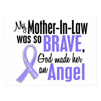 Angel 1 Mother-In-Law Esophageal Cancer Postcard