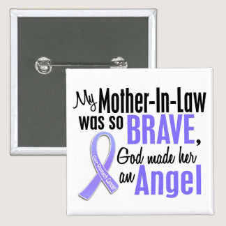 Angel 1 Mother-In-Law Stomach Cancer Button