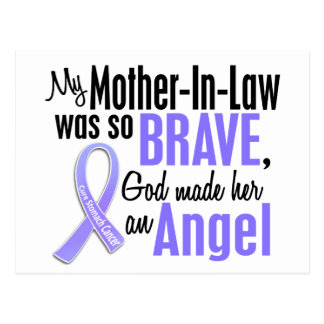 Angel 1 Mother-In-Law Stomach Cancer Postcard