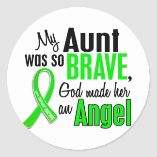 Angel 1 Muscular Dystrophy Aunt Stickers