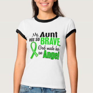 Angel 1 Muscular Dystrophy Aunt T-Shirt