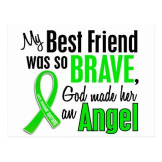 Angel 1 Muscular Dystrophy Best Friend (Female) Postcard