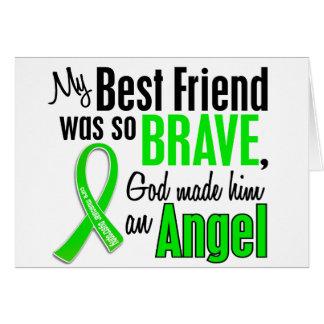Angel 1 Muscular Dystrophy Best Friend (Male) Card