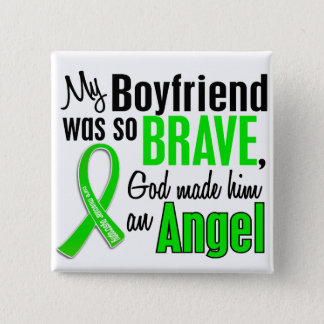 Angel 1 Muscular Dystrophy Boyfriend Pinback Button