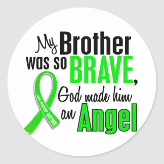 Angel 1 Muscular Dystrophy Brother Stickers