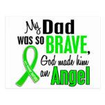 Angel 1 Muscular Dystrophy Dad Postcard