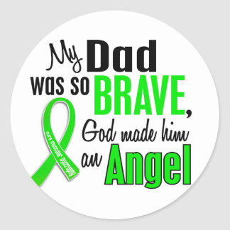 Angel 1 Muscular Dystrophy Dad Stickers