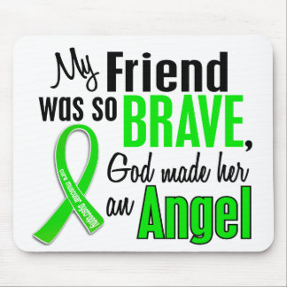 Angel 1 Muscular Dystrophy Friend (Female) Mouse Pad