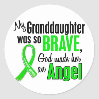 Angel 1 Muscular Dystrophy Granddaughter Sticker