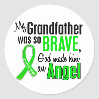Angel 1 Muscular Dystrophy Grandfather Sticker