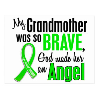 Angel 1 Muscular Dystrophy Grandmother Postcard