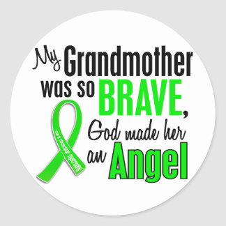Angel 1 Muscular Dystrophy Grandmother Sticker