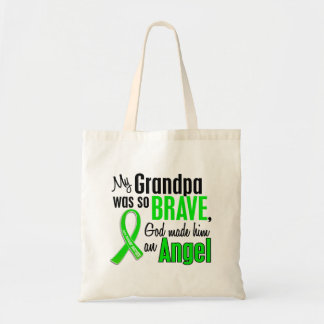 Angel 1 Muscular Dystrophy Grandpa Budget Tote Bag
