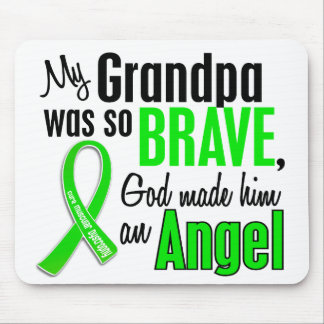 Angel 1 Muscular Dystrophy Grandpa Mouse Pad