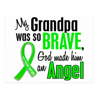 Angel 1 Muscular Dystrophy Grandpa Postcard