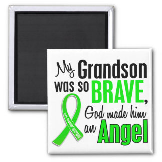 Angel 1 Muscular Dystrophy Grandson Fridge Magnets