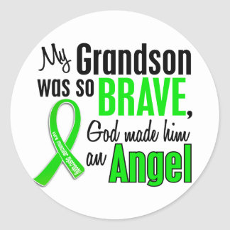 Angel 1 Muscular Dystrophy Grandson Stickers