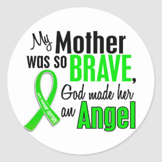 Angel 1 Muscular Dystrophy Mother Sticker