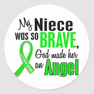 Angel 1 Muscular Dystrophy Niece Stickers