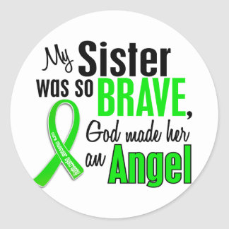 Angel 1 Muscular Dystrophy Sister Stickers