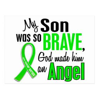 Angel 1 Muscular Dystrophy Son Postcard