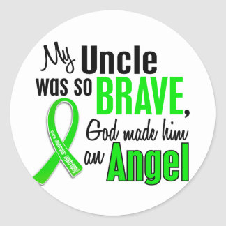 Angel 1 Muscular Dystrophy Uncle Sticker