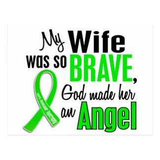 Angel 1 Muscular Dystrophy Wife Postcard