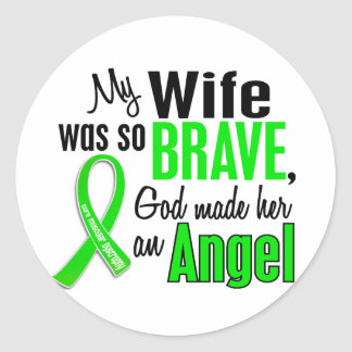 Angel 1 Muscular Dystrophy Wife Stickers