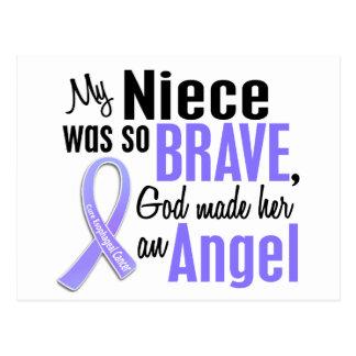 Angel 1 Niece Esophageal Cancer Postcard