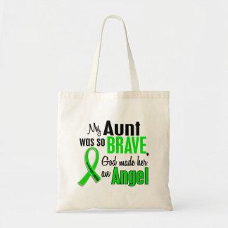 Angel 1 Non-Hodgkins Lymphoma Aunt Budget Tote Bag