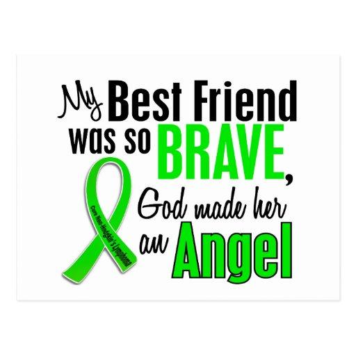 Angel 1 Non-Hodgkins Lymphoma Best Friend (Female) Postcard