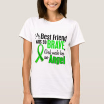 Angel 1 Non-Hodgkins Lymphoma Best Friend (Female) T-Shirt