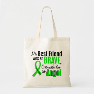 Angel 1 Non-Hodgkins Lymphoma Best Friend (Male) Tote Bag