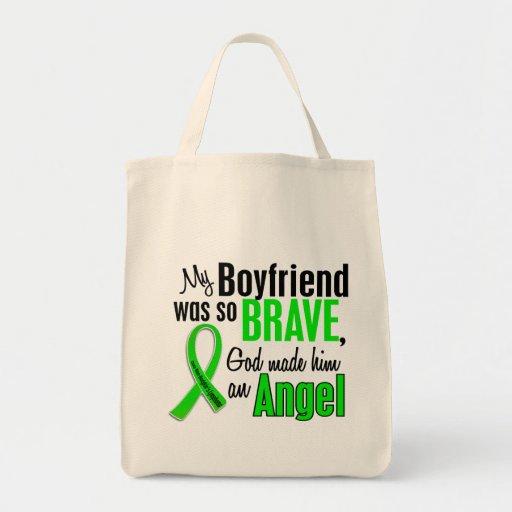 Angel 1 Non-Hodgkins Lymphoma Boyfriend Canvas Bag