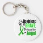 Angel 1 Non-Hodgkins Lymphoma Boyfriend Key Chain