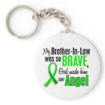 Angel 1 Non-Hodgkins Lymphoma Brother-In-Law Keychain