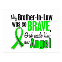 Angel 1 Non-Hodgkins Lymphoma Brother-In-Law Postcard