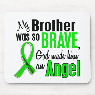 Angel 1 Non-Hodgkins Lymphoma Brother Mouse Pad