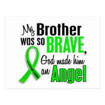 Angel 1 Non-Hodgkins Lymphoma Brother Postcard