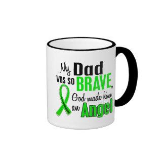 Angel 1 Non-Hodgkin's Lymphoma Dad Ringer Mug