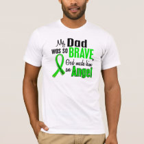 Angel 1 Non-Hodgkin's Lymphoma Dad T-Shirt
