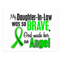 Angel 1 Non-Hodgkins Lymphoma Daughter-In-Law Postcard