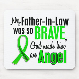 Angel 1 Non-Hodgkins Lymphoma Father-In-Law Mouse Pad
